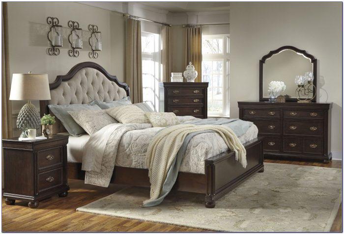 Ashley Furniture Grey Tufted Headboard
