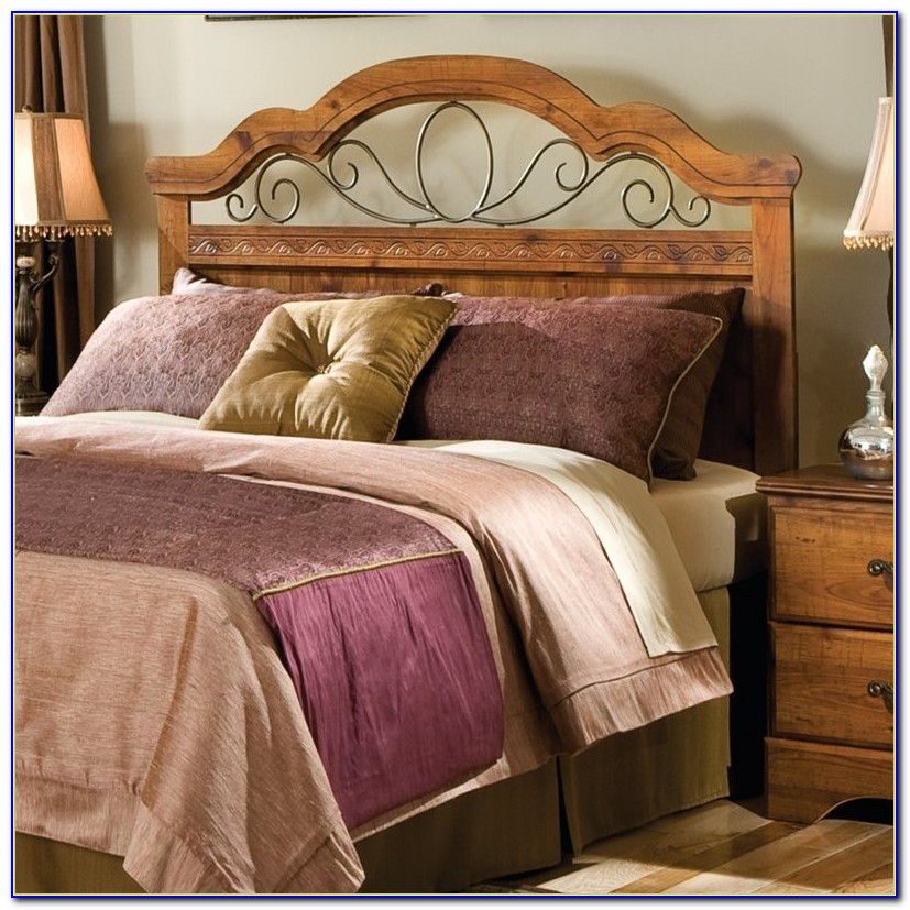 Dark Wood Headboard Queen