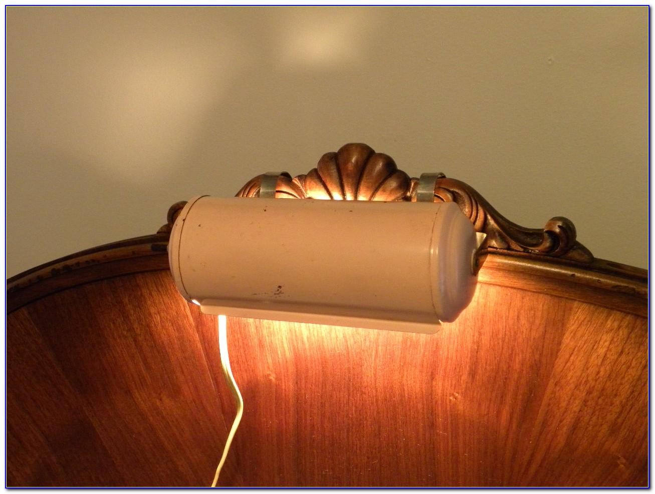 Headboard Light Bed