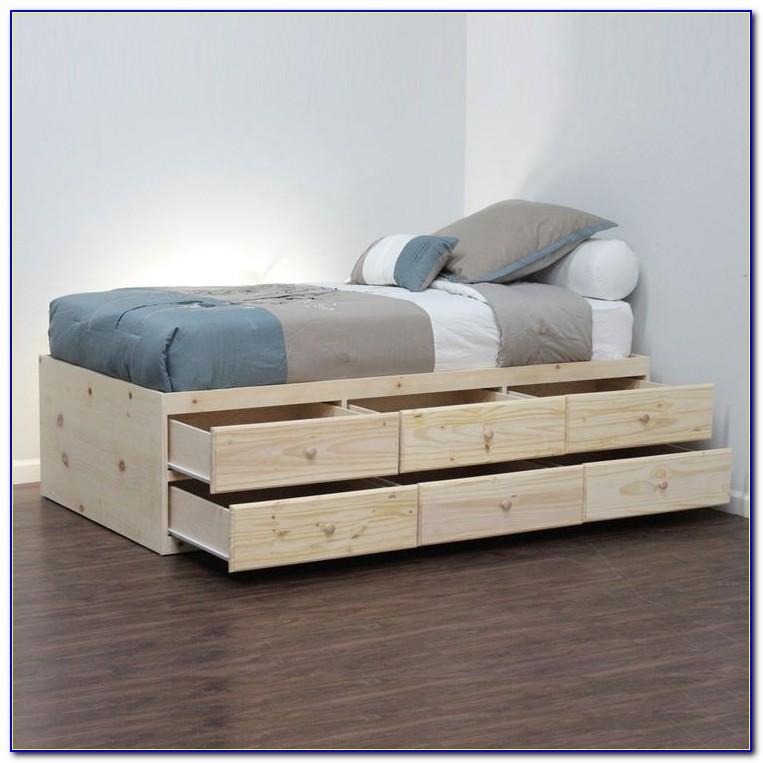 Ikea Storage Bed No Headboard