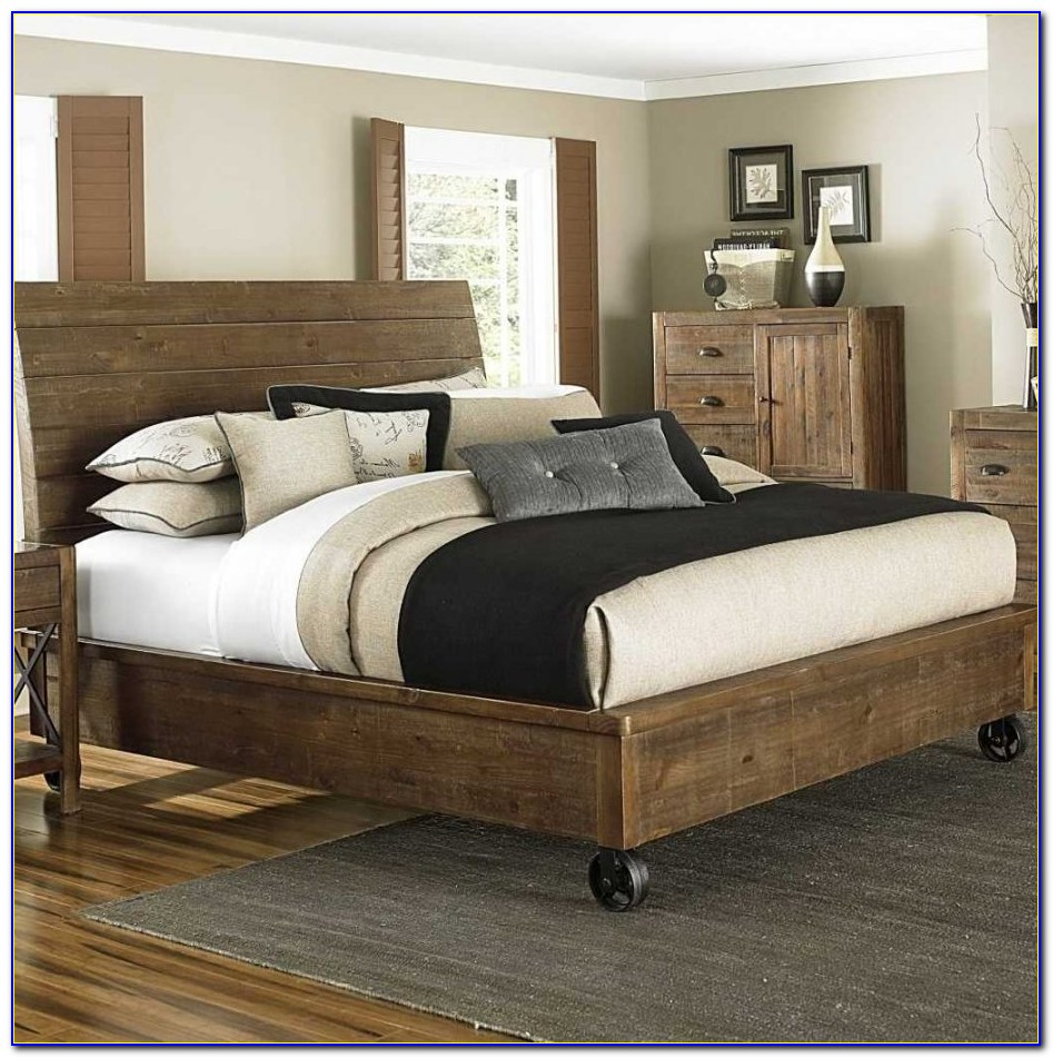 King Size Bed Frame Without Headboard