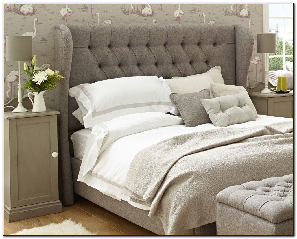 King Size Padded Headboard And Frame