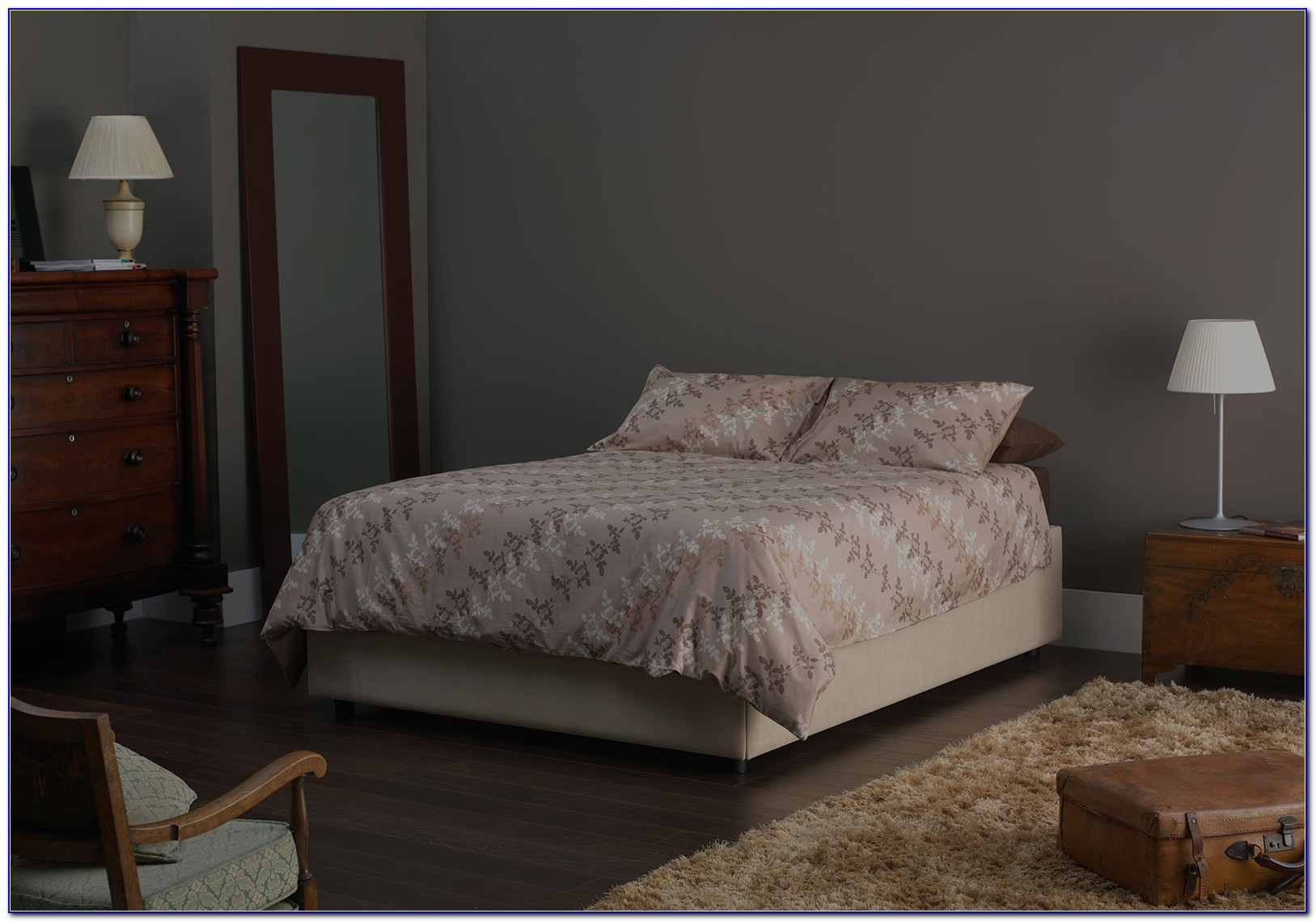 Ottoman Storage Bed No Headboard