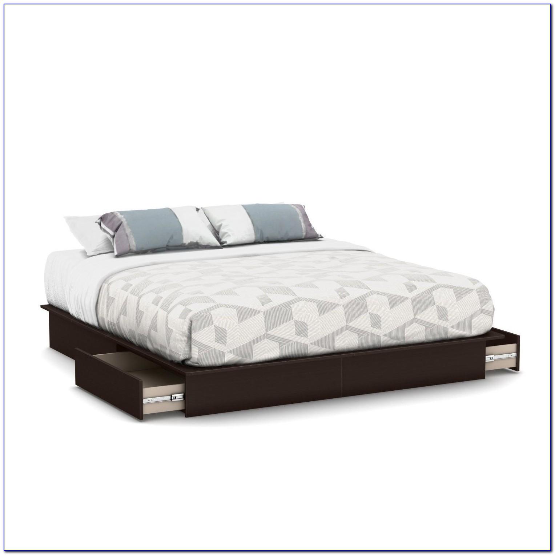 Queen Storage Bed No Headboard
